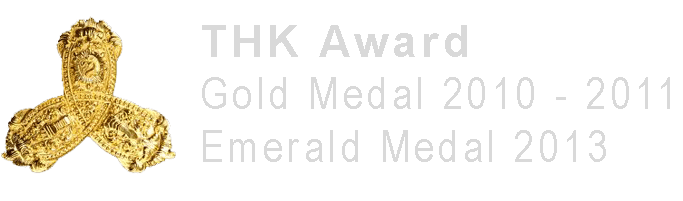 THK Award - Gold & Emerald Medal