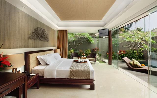 Pool Club Villas Bali Mandira Beach Resort Spa