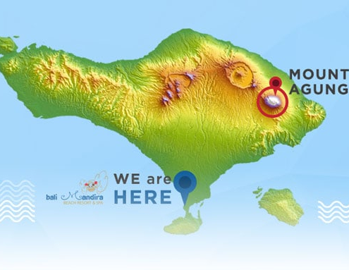 mount agung situation