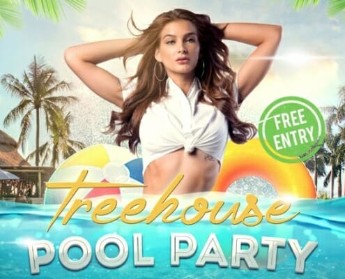 treehouse pool party