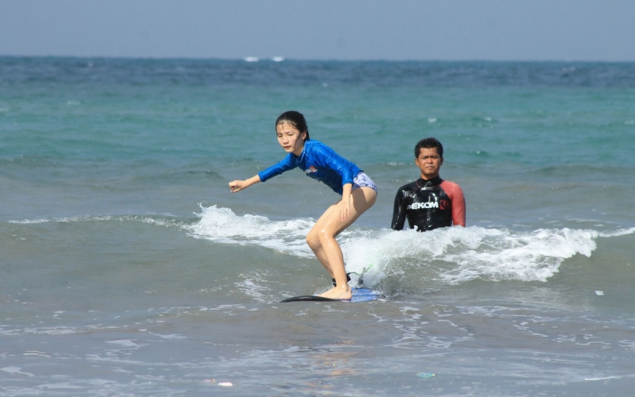 bali surfing lesson 3