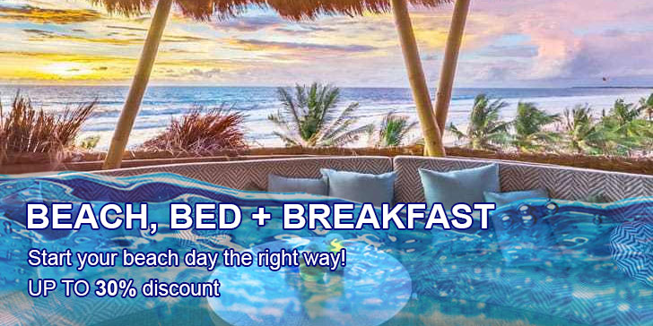 beach bed breakfast