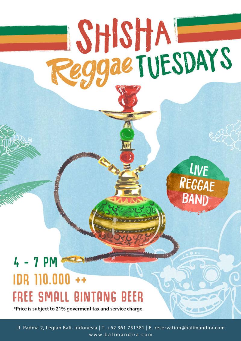 shisha reggae tuesdays